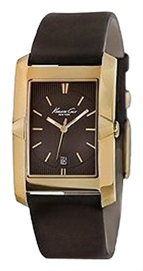 Guess Guess KC1887 Men's Gold Analog Watch With Brown Dial