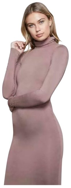 Item - Mauve Bodycon Long Night Out Dress Size 2 (XS)