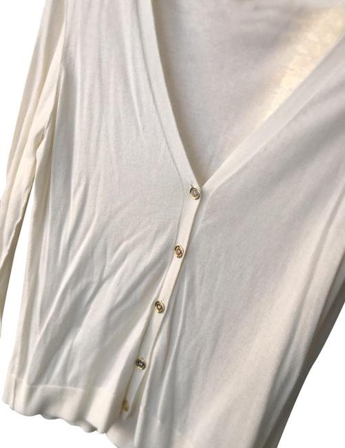 Item - Cream Gold Beige Button-down Top Size 12 (L)