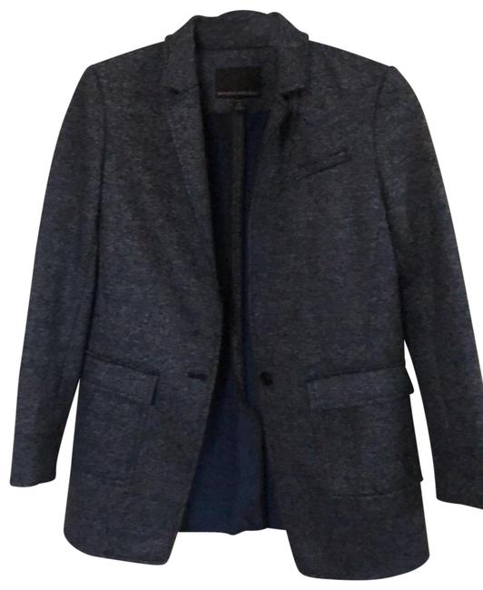 Item - Blue Wool Blend Blazer Size Petite 0 (XXS)