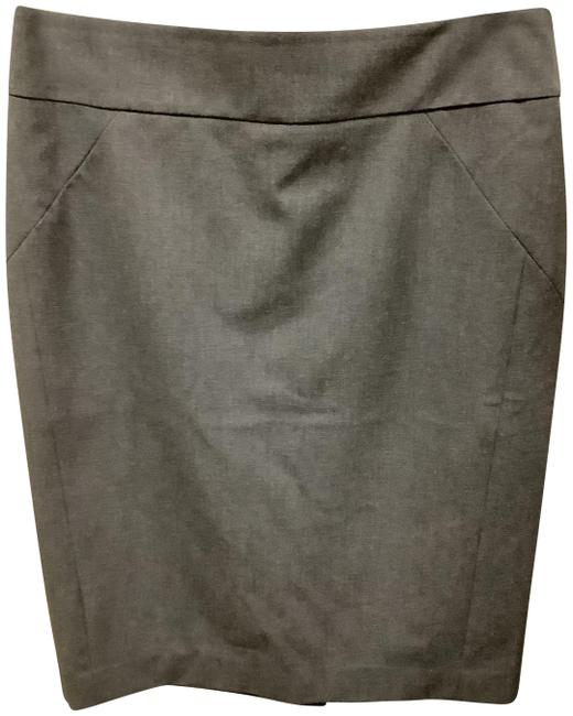 Item - Gray Pencil Skirt Size 4 (S, 27)
