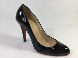 Christian Louboutin Classic Patent Leather Black Pumps