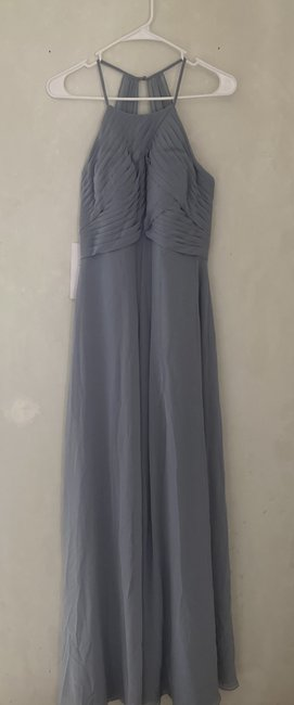 Item - Dusty Blue Ginger Formal Bridesmaid/Mob Dress Size 4 (S)