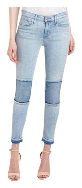 Item - Blue Distressed Suzzi Midrise Ankle Super Skinny Jeans Size 6 (S, 28)