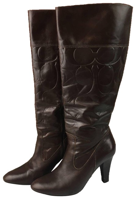 Item - Brown Millie Signature Boots/Booties Size US 7.5 Regular (M, B)