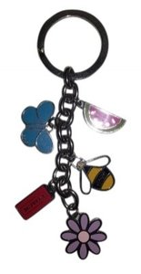 Coach Coach Summer Charms Key Ring