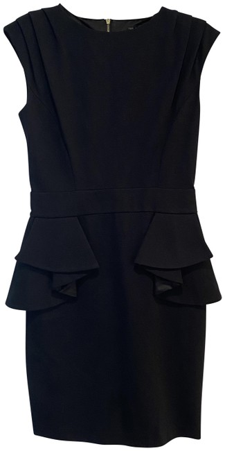 Ted Baker Black Short Casual Dress Size 4 (S) Ted Baker Black Short Casual Dress Size 4 (S) Image 1