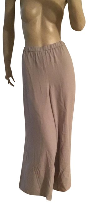 Item - Silver New Woman Crop Silk Crepe 2x Pants Size 22 (Plus 2x)