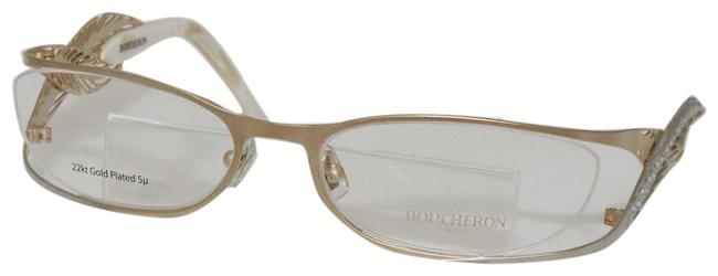 Item - Brushed Gold New Boucheron Beo 107.03 Eyeglasses