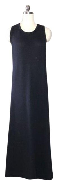 Black Baby Long Casual Maxi Dress Size 8 (M) Black Baby Long Casual Maxi Dress Size 8 (M) Image 1
