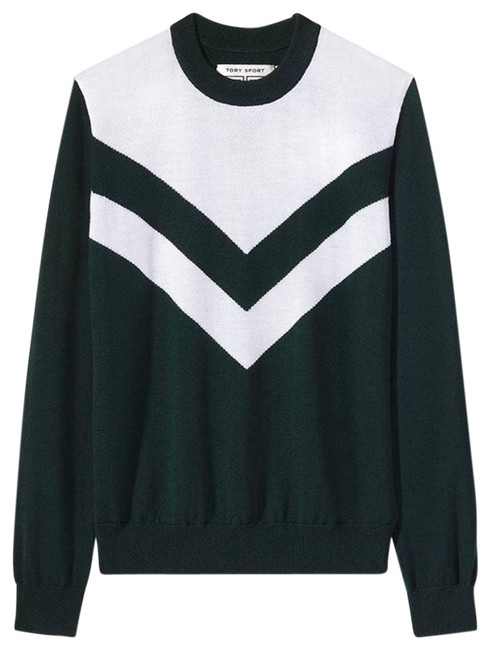 Item - Sport Performance Merino Chevron Green Sweater