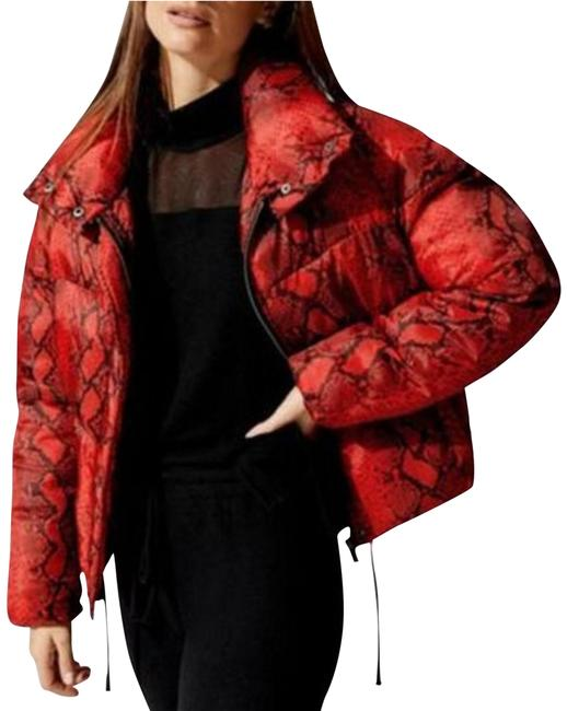 Item - Red Jamie Oversized Winter Puffer Jacket Coat Size 2 (XS)
