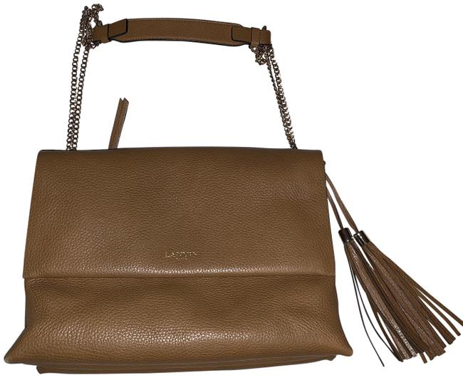 Item - Medium Sugar Brown Leather Shoulder Bag