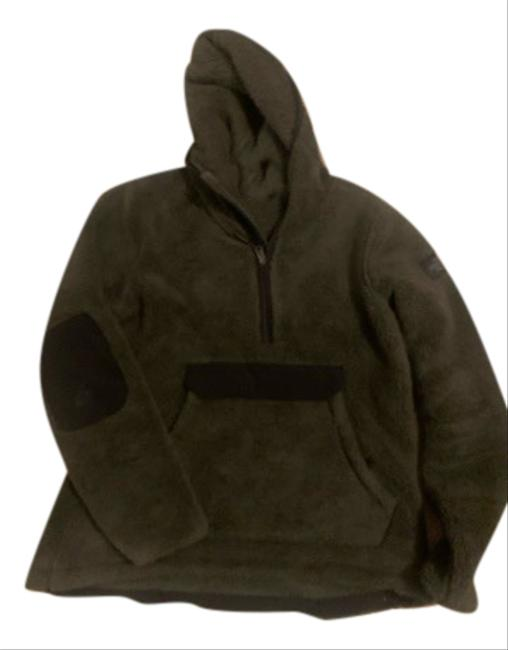 Item - Dark Green L20 Campshire Pullover Hoody 2.0 ( Women's)style# Nf0a3ys7 Activewear Size 8 (M)