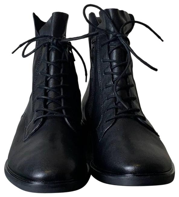 Paul Green Black Bernadette Lace Up Moto Ankle Boots/Booties Size US 9 Regular (M, B) Paul Green Black Bernadette Lace Up Moto Ankle Boots/Booties Size US 9 Regular (M, B) Image 1