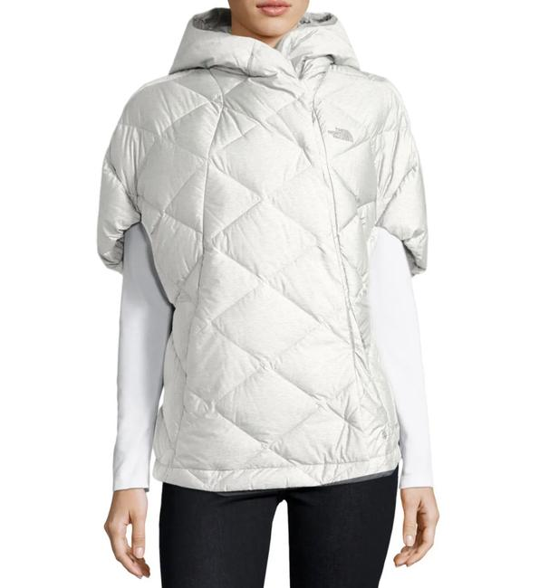 Item - Ivory Far Northern Quilted Puffer Capelet Coat Size 12 (L)