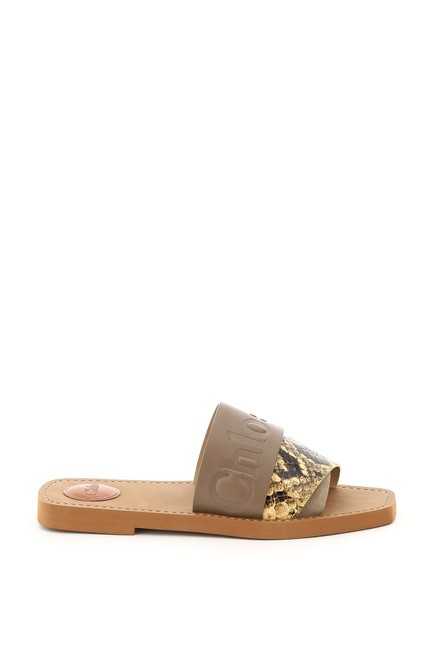 Item - Multicolored Woody with Logo Mules/Slides Size EU 39 (Approx. US 9) Regular (M, B)
