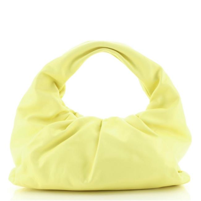 Item - The Shoulder Pouch Medium Yellow Leather Hobo Bag