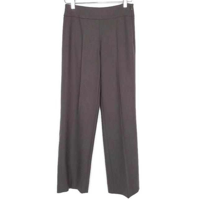 Item - Brown Wool Trousers Dress High Rise Stretch Pants Size 2 (XS, 26)