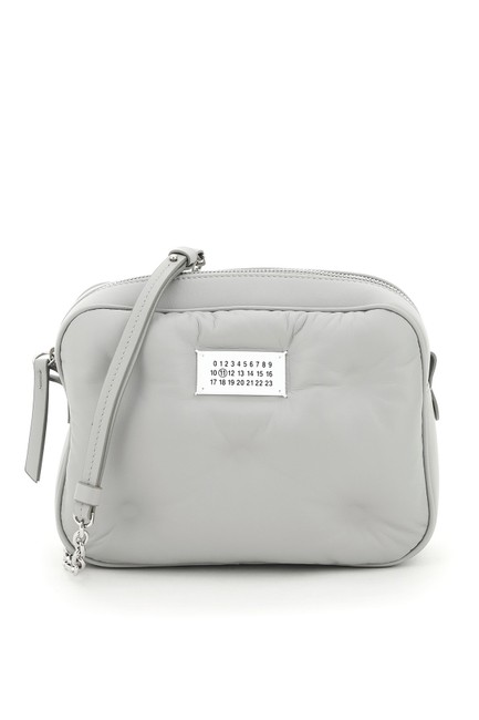 Item - Camera Bag Glam Slam Leather Grey Tote