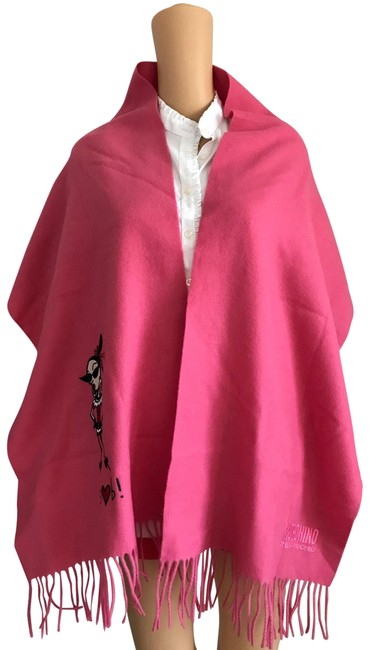 Moschino Pink Euc Cheap and Chi Scarf/Wrap Moschino Pink Euc Cheap and Chi Scarf/Wrap Image 1