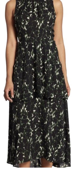 Item - Green and Black Wylan Long Casual Maxi Dress Size 10 (M)