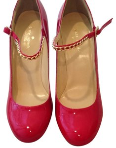 Kate Spade Pump Patent Red Pumps