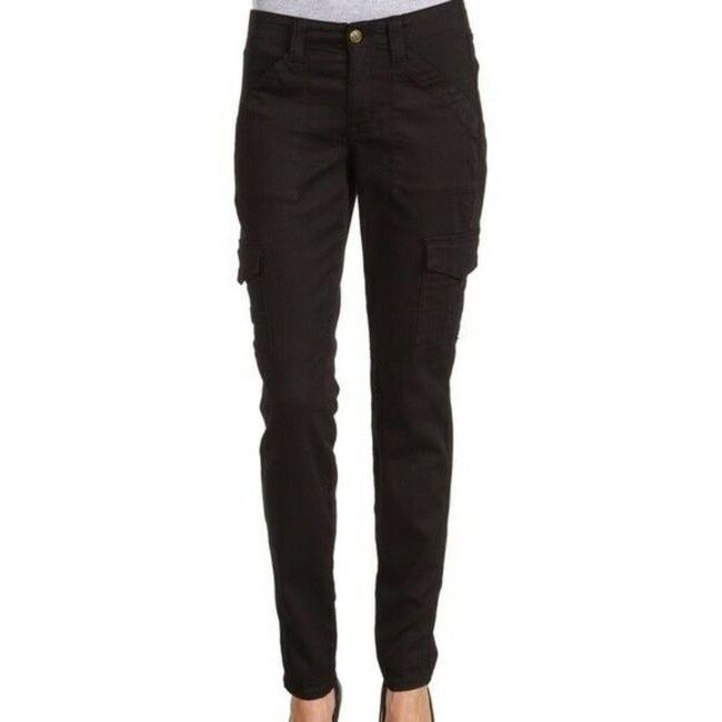 Item - Black Skinny Stretch Mid Rise Miracle Comfortable Pants Size 0 (XS, 25)