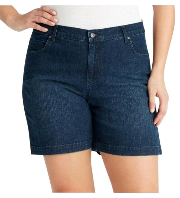 Item - Blue Amanda Denim Jeans Stretch High Rise Shorts Size 24 (Plus 2x)