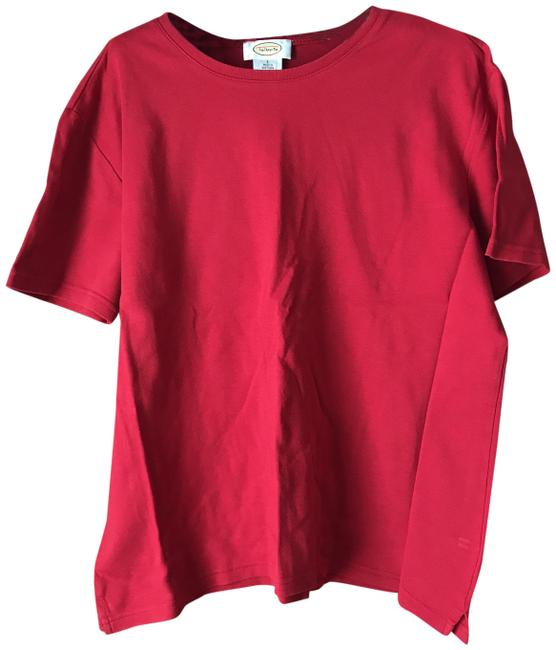 Item - Red Sleeve Tee Shirt Size 12 (L)