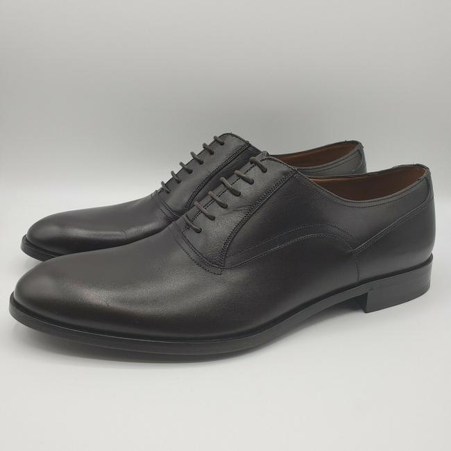 Bally Brown Men's Smooth Leather Lace Up Oxford Dress Us 11d/10 Eu Shoes Bally Brown Men's Smooth Leather Lace Up Oxford Dress Us 11d/10 Eu Shoes Image 2
