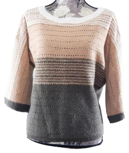 Item - Ombre Womens Wool Brown Tan Sweater