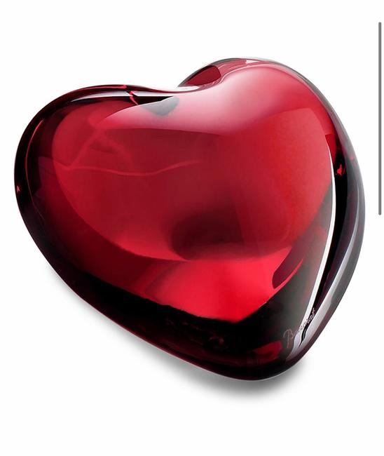 Baccarat Red Coeur Crystal Cupid Heart Other Baccarat Red Coeur Crystal Cupid Heart Other Image 5