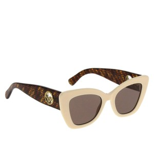 Item - White/Brown Ff0327/S Vk670 Sunglasses