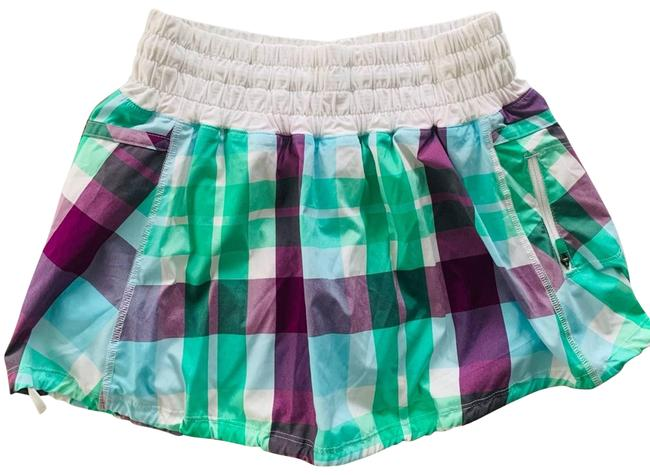 Item - Green Run Tracker Foxy Plaid Rare Run Activewear Bottoms Size 4 (S, 27)