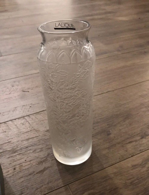 Item - Clear Bougainvillier Blossom Vase Style No: 1249500 Other