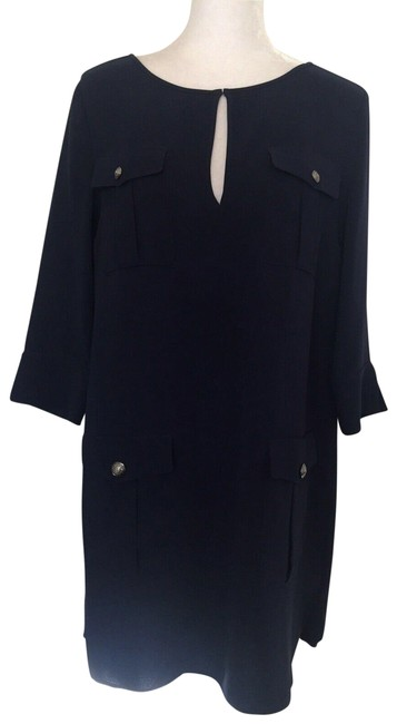 Item - Navy Angness Short Casual Dress Size 8 (M)