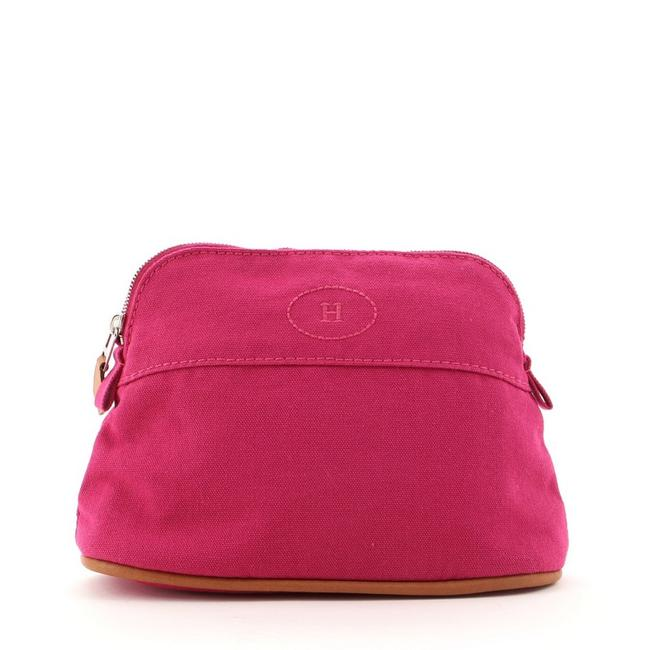 Item - Bolide Travel Pouch Mini Pink Canvas Clutch