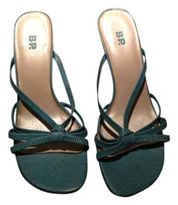 BP. Clothing Turquoise/ Aqua Sandals