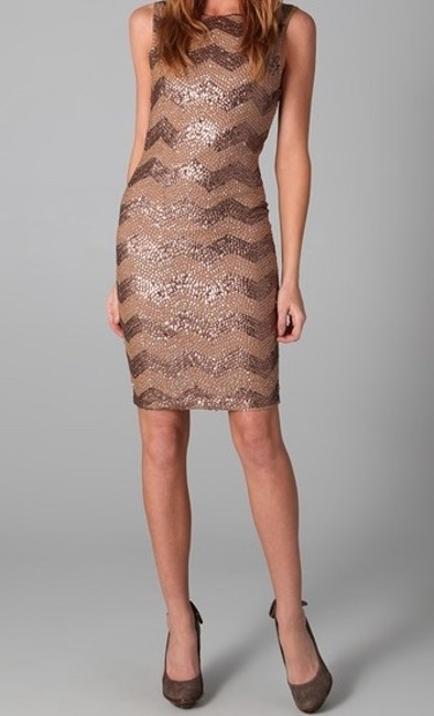 Alice + Olivia Sequin Party Tight And Dress