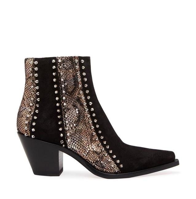 Item - Black With My Guitar Boots/Booties Size EU 36.5 (Approx. US 6.5) Narrow (Aa, N)