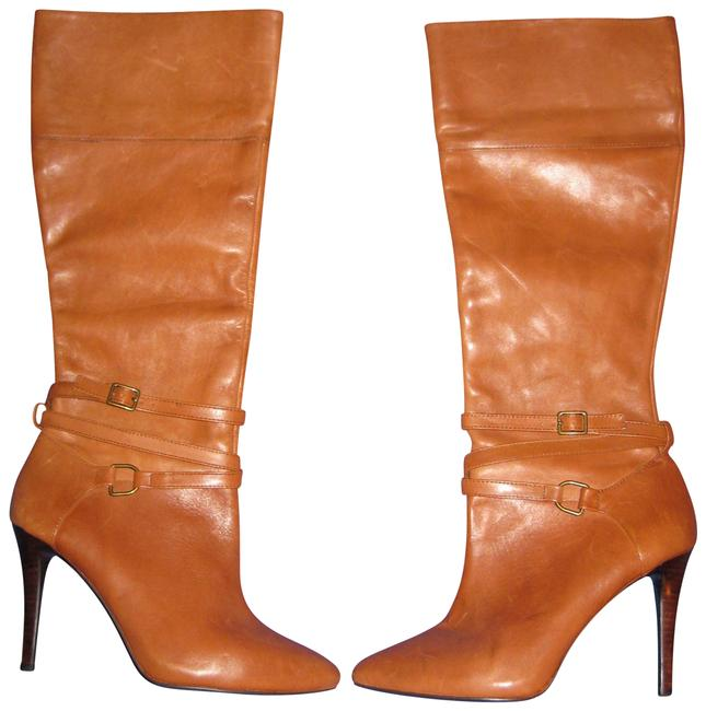 Item - Polo Tan Brown Kyla Knee High Stiletto Boots/Booties Size US 8 Regular (M, B)