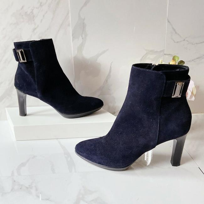 Item - Blue Rochelle Waterproof Pointed Toe Platform Boots/Booties Size US 8.5 Regular (M, B)