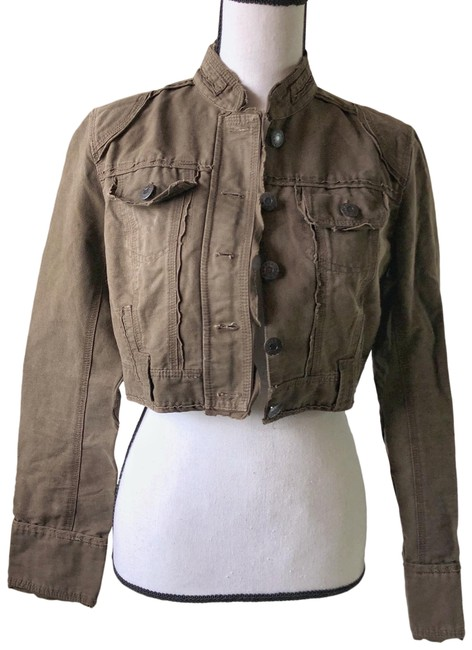 Item - Army Brown Jacket Size 10 (M)