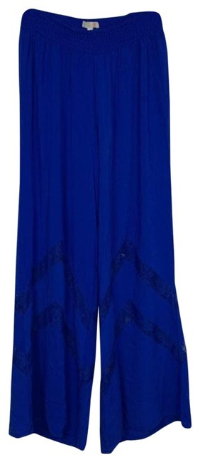 Item - Blue Royal Palazzo Beach Medium Pants Size 8 (M, 29, 30)