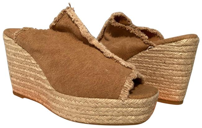 Item - Neutral/Brown Fatima Espadrille Wedges Size US 10 Regular (M, B)