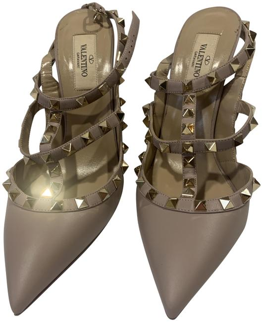 Item - Nude Rockstud Sandals Size EU 38 (Approx. US 8) Regular (M, B)