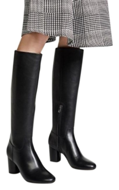 Item - Black The Scarlett Tall Leather Heeled Boots/Booties Size US 6 Regular (M, B)