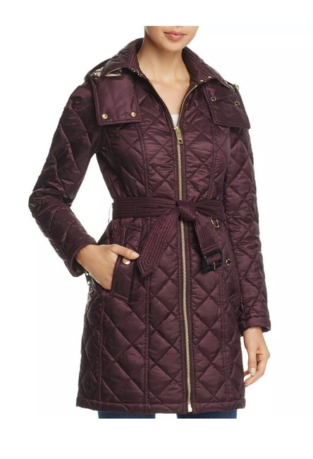 Item - Burgundy Red Baughton Quilted Jacket Size 8 (M)