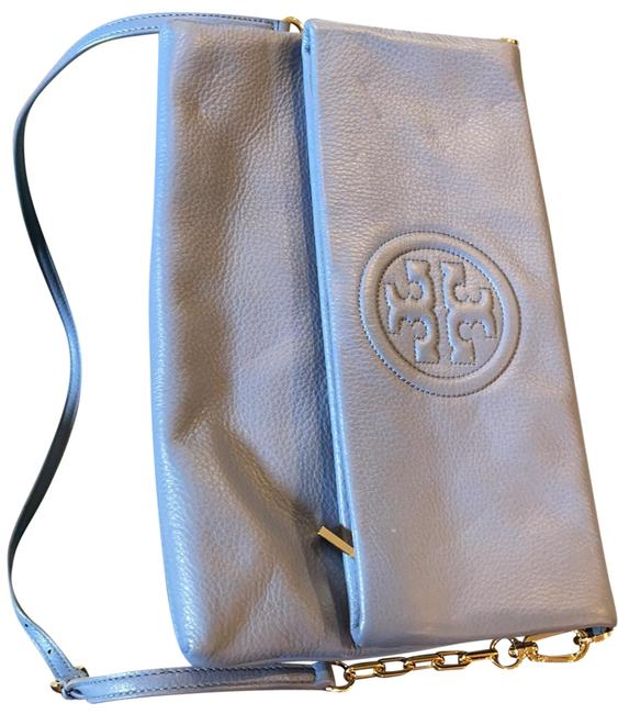 Tory Burch Baby Blue Leather Cross Body Bag Tory Burch Baby Blue Leather Cross Body Bag Image 1